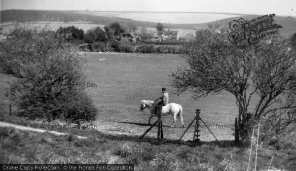 Photo of Fulking, Riding On The Downs c.1965