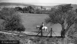 Fulking, Riding On The Downs c.1965
