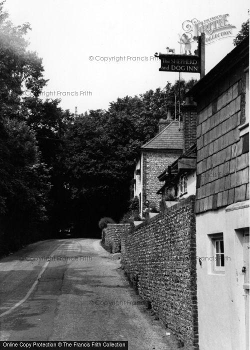 Photo of Fulking, Shepherd And Dog Inn c.1960