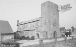 Our Lady And St Edward's Church c.1960, Fulwood