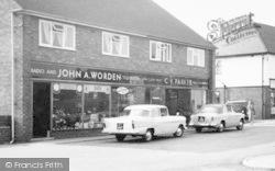 Shops, Beech Drive c.1960, Fulwood