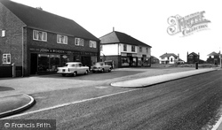 The Shops, Beech Drive c.1960, Fulwood