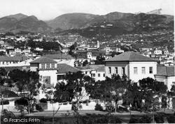 Funchal, Avenida Do Infante c.1955