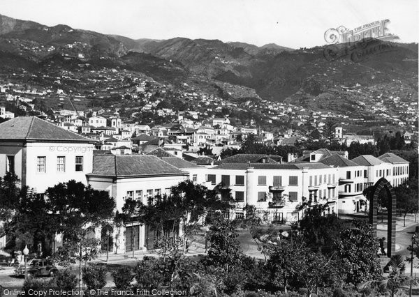 Photo of Funchal, Avenida Do Infante c.1955