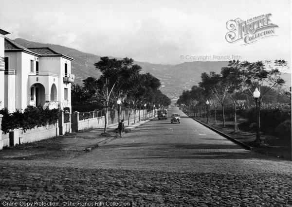 Photo of Funchal, Avenida Do Infante c.1955