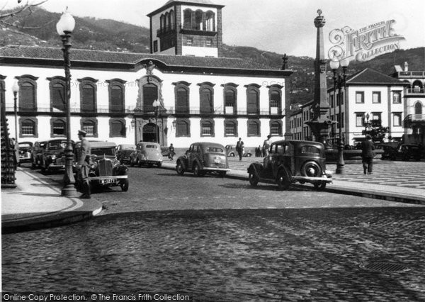 Photo of Funchal, Camara Municipal (The Town Hall) c.1955