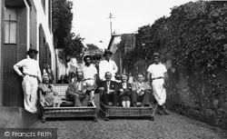 Funchal, Carros Do Monte (Wine House Stop) c.1955