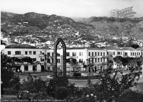 Photo of Funchal, Praca Do Infante c.1955