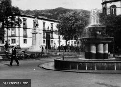 Funchal, Praca Dos Restauradores c.1955