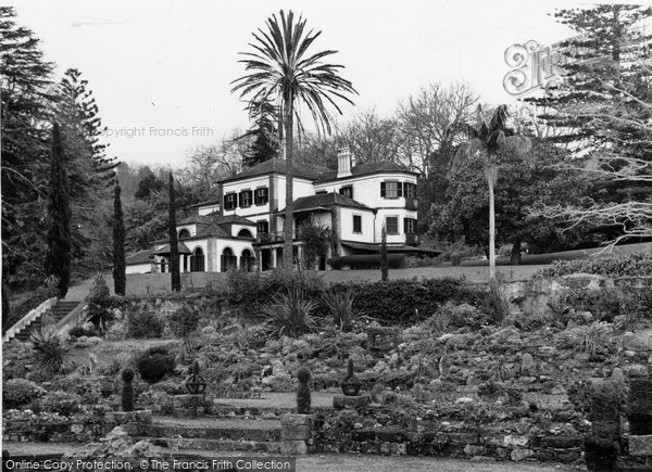 Photo of Funchal, Quinta Do Palheiro (Blandy Mansion) c.1955