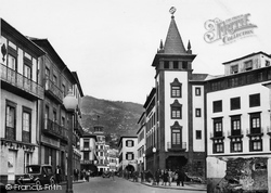 Funchal, Rua Do Aljube c.1955