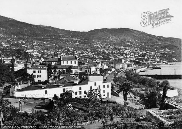 Photo of Funchal, Veita Tivada De Santa Catharina c.1955