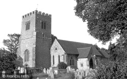 Funtington, St Mary's Church 1953