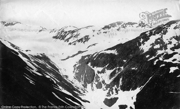 Photo of Furka, The Mutten Glacier c.1875