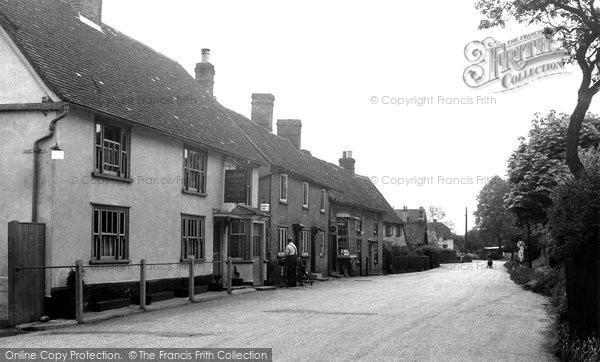 Fyfield, Queen Street c1955