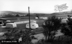 Fylingdales, Caravan Site c.1960, Fylingdales Moor