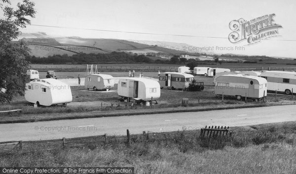 Photo of Fylingdales, Caravan Site c.1960