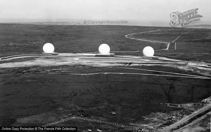 Photo of Fylingdales, Early Warning System c1963