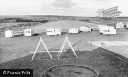 Fylingdales, Flask Caravan Site c.1960, Fylingdales Moor