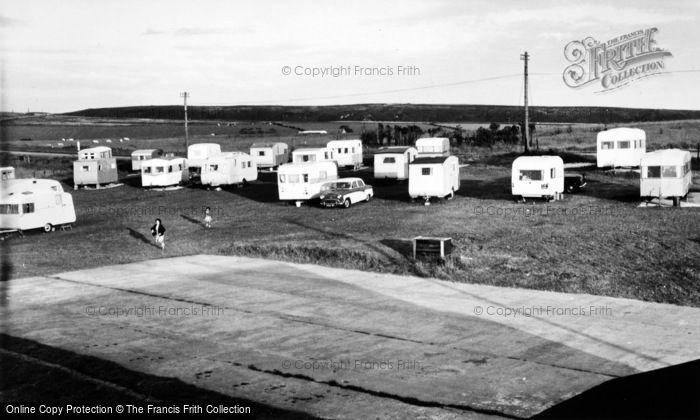Photo of Fylingdales, Flask Caravan Site c.1960
