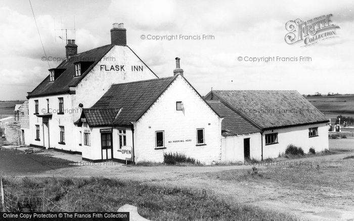 Photo of Fylingdales, Flask Inn c.1960