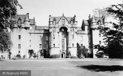 Fyvie, Fyvie Castle 1949
