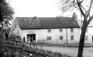 Gainford, the Corner Shop c1960
