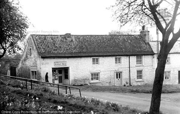 Gainford, the Corner Shop c1955