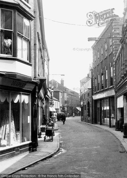 Photo of Gainsborough, Bridge Street c.1955