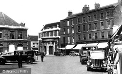 Gainsborough, Market Place 1955