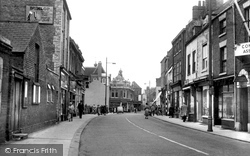 Market Street c.1955, Gainsborough