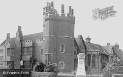 Gainsborough, Old Hall And War Memorial c.1955