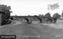 Old Toll Bridge c.1955, Gainsborough
