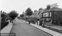 Gainsborough, Ropery Road c.1960