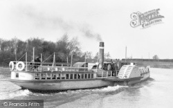 Gainsborough, Ss Celia On The River Trent c.1910