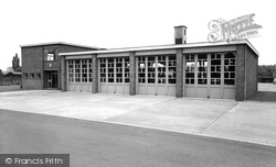 Gainsborough, The Fire Station c.1960