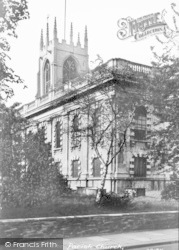 Gainsborough, The Parish Church c.1955
