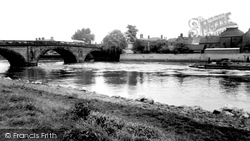 Gainsborough, The River Trent c.1960