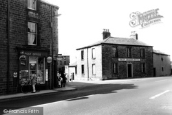 Post Office And Green Dragon Hotel c.1960, Galgate