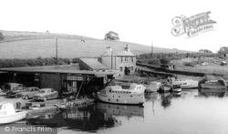 Galgate, The Boatyard c.1960