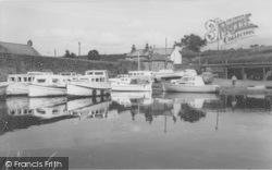 The Boatyard c.1960, Galgate