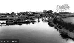 Galgate, The Boatyard c.1965