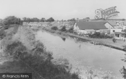 Galgate, The Canal c.1960