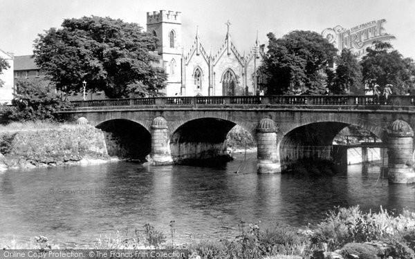 Photo of Galway, Salmon Weir Bridge c.1955