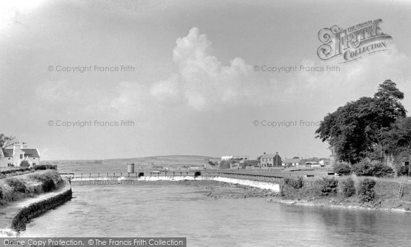 Photo of Galway, The Salmon Weir c.1955
