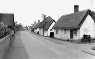 Gamlingay, Church End c1965