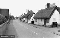 Gamlingay, Church End c.1965
