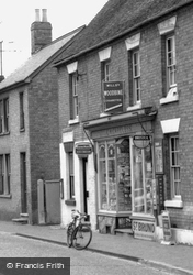 Mill Street, C.H.Careless Tobacconist And Confectioner c.1965, Gamlingay