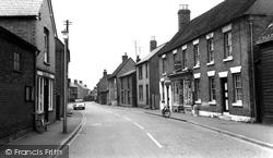 Gamlingay, Mill Street c.1965