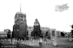 Gamlingay, St Mary The Virgin Parish Church c.1965